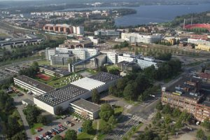 Ilmakuva yliopistoalueesta